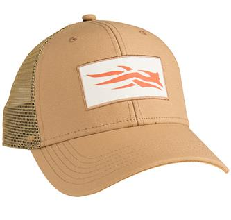 Canvas Logo Patch Trucker