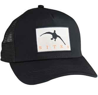 Mallard Silhouette Five Panel Trucker