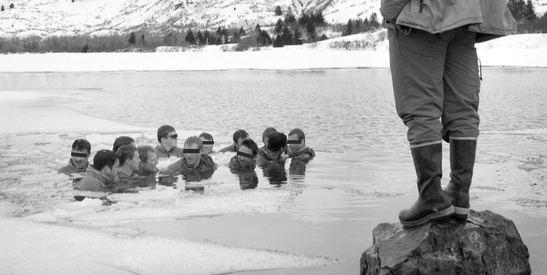 The Darkroom: A Navy SEAL Rewarming Drill