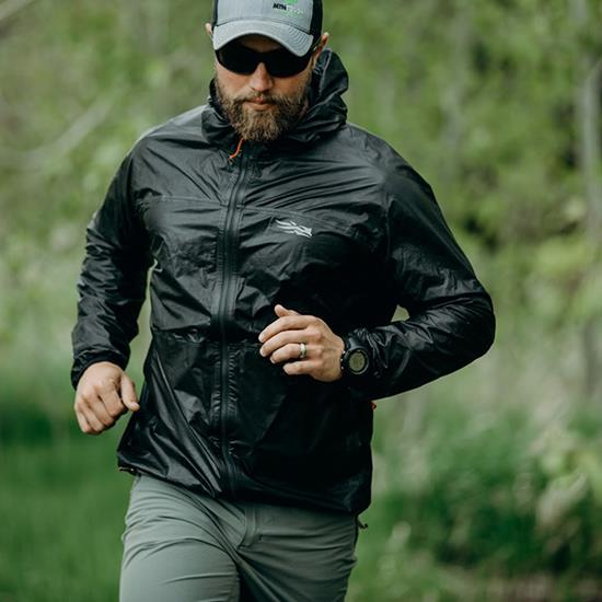 Training in a Vapor SD Jacket