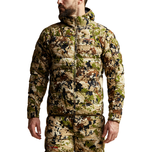 Kelvin Lite Down Jacket Subalpine from the side