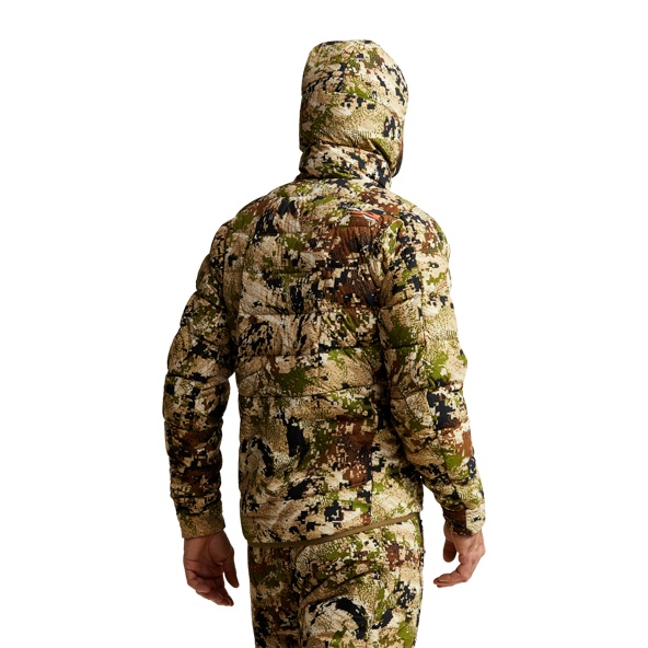 Kelvin Lite Down Jacket Subalpine hand pocket