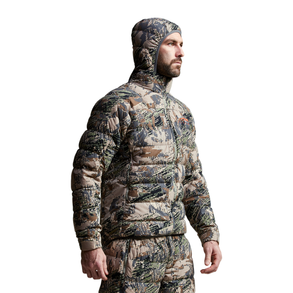 Kelvin Lite Down Jacket Open Country from the back
