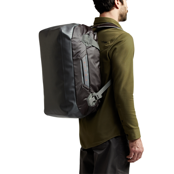 Drifter Duffle 50L in Lead open top