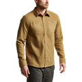 Riser Work Shirt in Clay front chest pocket