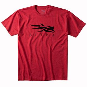 Icon Heather Tee Red
