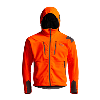 Stratus Windstopper Jacket in Blaze Orange
