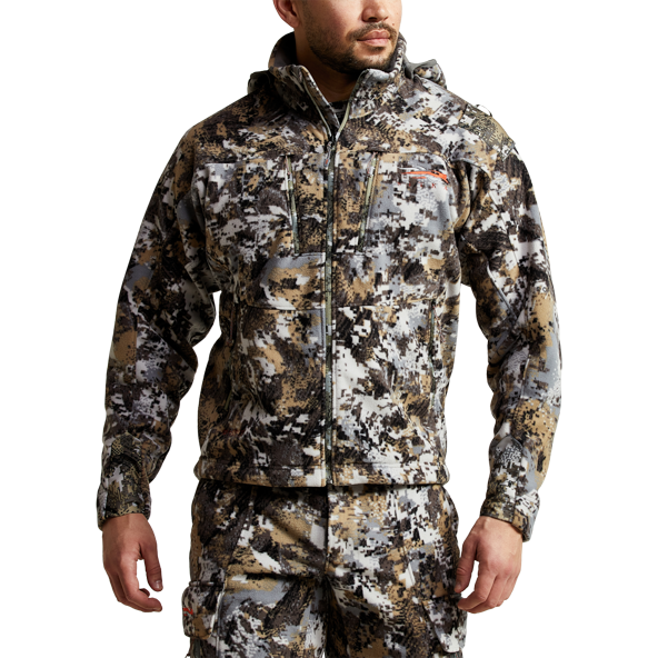 Stratus Windstopper Jacket in Elevated II side view