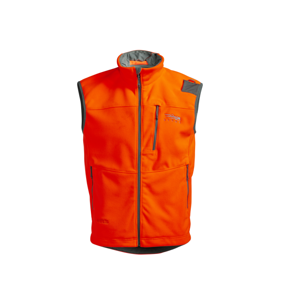 Stratus Windstopper Vest in Blaze Orange