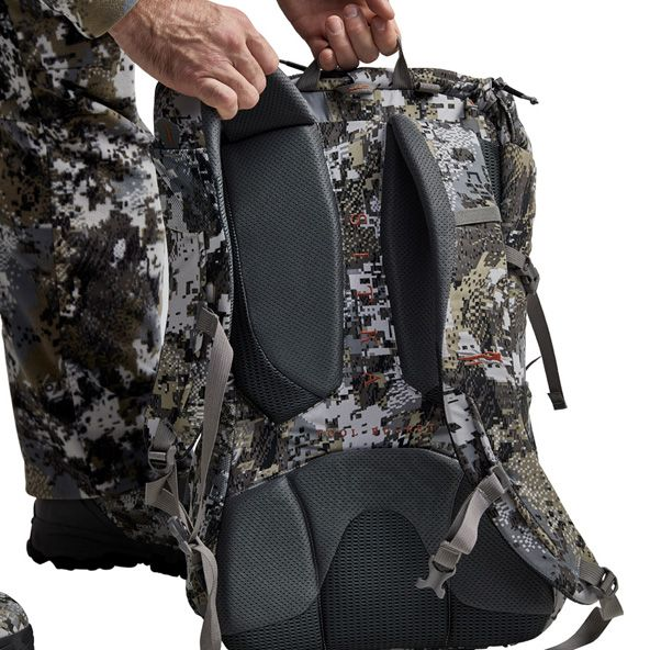 Tool Bucket Whitetail Pack top carrying strap