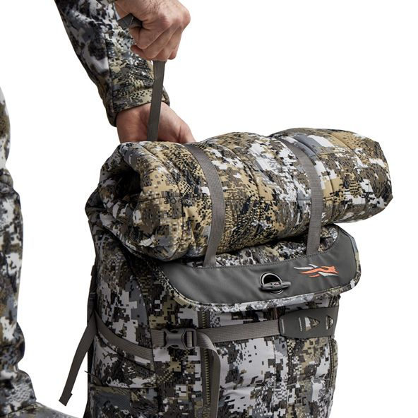 Tool Bucket Whitetail Pack tightening down jacket