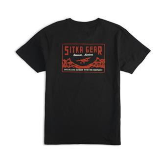 Descent Tee in SITKA Black