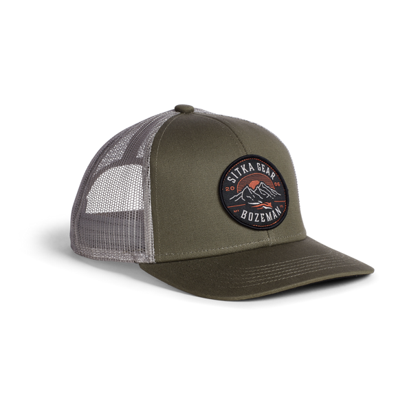 Altitude Mid Pro Trucker in Covert
