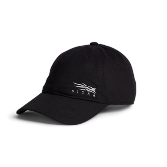 Badge Icon Lo Pro Strapback in SITKA Black
