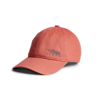 Badge Icon Lo Pro Strapback in Rosewood