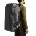 Drifter Duffle 110L in Lead carrying handles